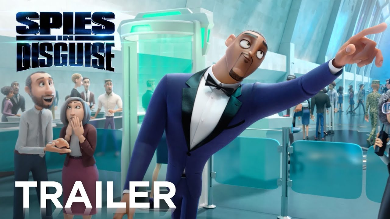 Spies in Disguise | Officiell Trailer 2 | 20th Century FOX