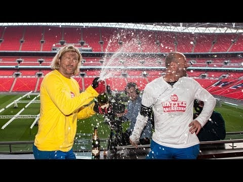 They think it's all over.... it is now! | Sport Relief Battle of The Backsides