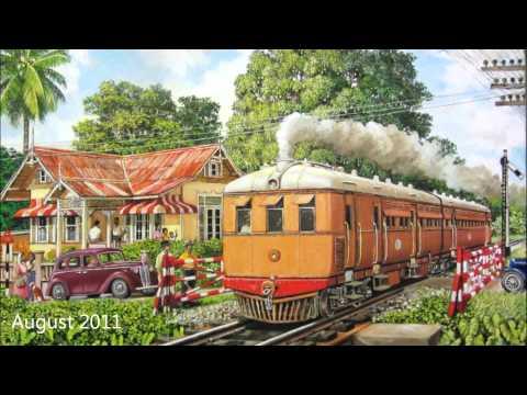 "Railway Art by David Moore - Part 1 ""Steam Coach"""
