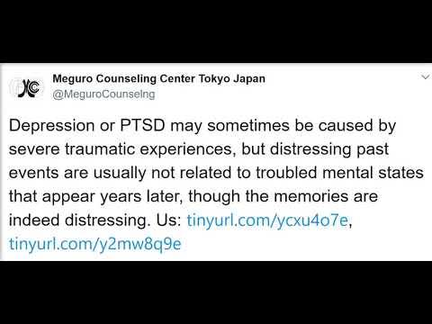 Therapist & counseling psychiatrist in Tokyo, Japan: trauma, distress, and mental illness.