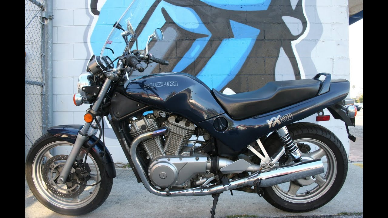 1990 suzuki vx800 classic cafe cruiser youtube. Black Bedroom Furniture Sets. Home Design Ideas