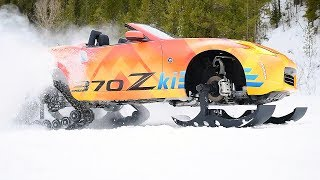 Фото с обложки Nissan 370zki – Ready To Attack The Ski Slopes