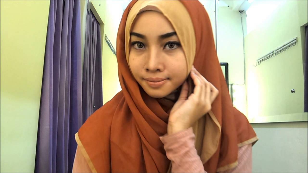 Hijab Tutorial 6 For Daily YouTube