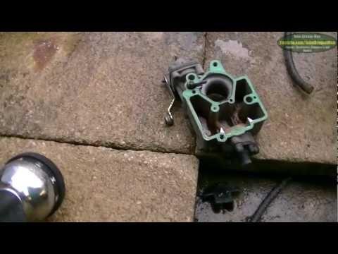 Fiat Panda 4x4 Sisley Video log No. 14 (Carburetor clean and repair)