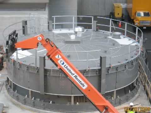 Seattle Steam Biomass Silo Build