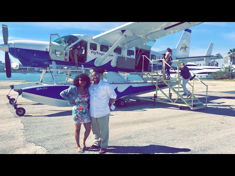 TRAVEL VLOG: FLIGHT TO THE BAHAMAS 🇧🇸 IN A SEAPLANE ✈️