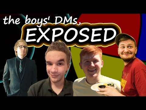 the boys' DMs, EXPOSED