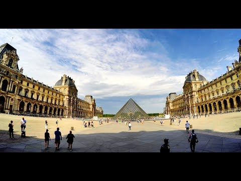 The Louvre, Paris, France - a short tour.
