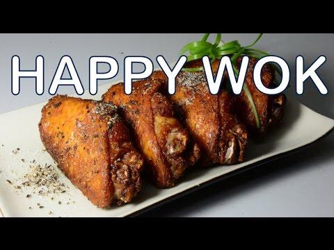 炸雞翅 Salt And Pepper Chicken Wings Chinese Style