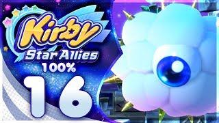 KRACKO ATTACKS! Kirby Star Allies - 100% Walkthrough: Far-Flung Starlight Heroes | Part 16!