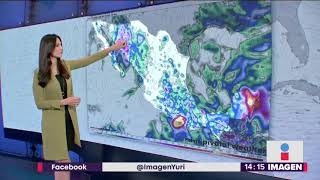 Trayectoria de la tormenta tropical 'Bud' | Noticias con Yuriria Sierra