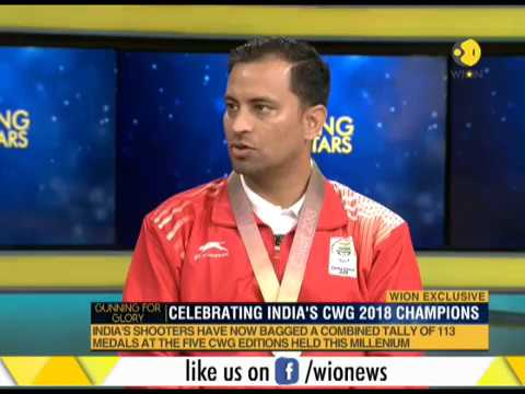 India's shooting star on WION: Celebrating India's CWG 2018 Champions