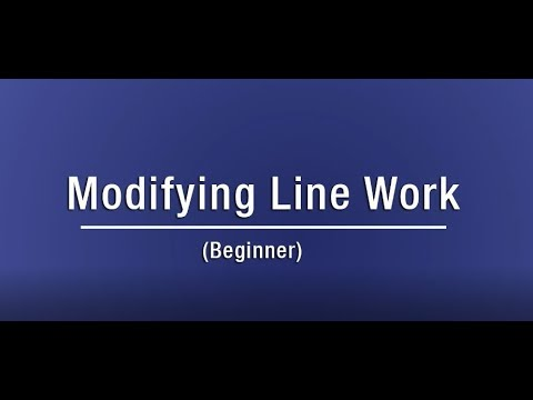 Modifying Line Work - Revit online training for interior design - Miso BIM
