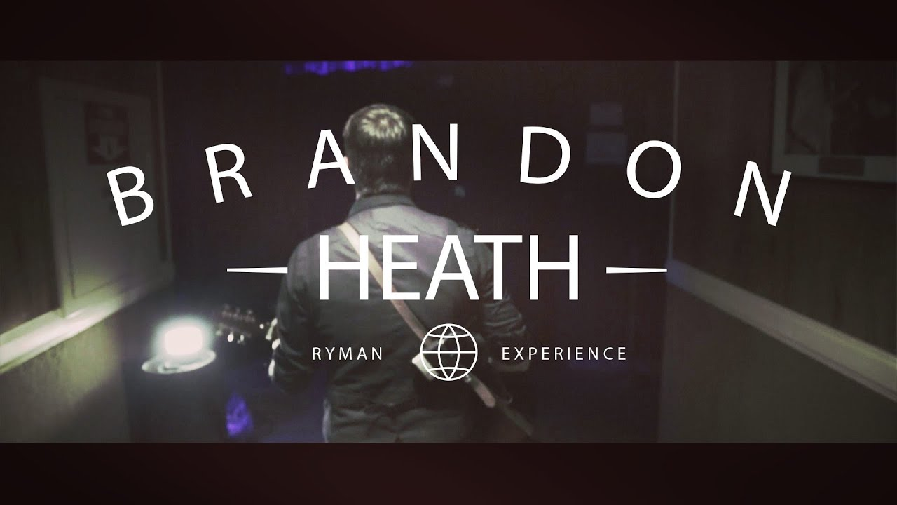 Brandon Heath - A Day In The Life At The Ryman Auditorium