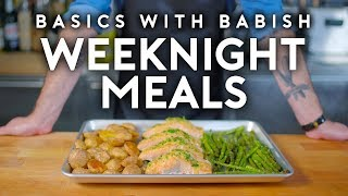 Download Weeknight Meals | Basics with Babish Mp3 and Videos