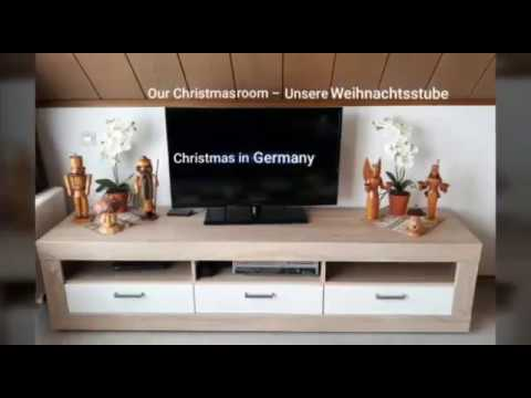 Christmas In Germany     -    Our Christmas Home      ☆      Unsere Weihnachtsstube