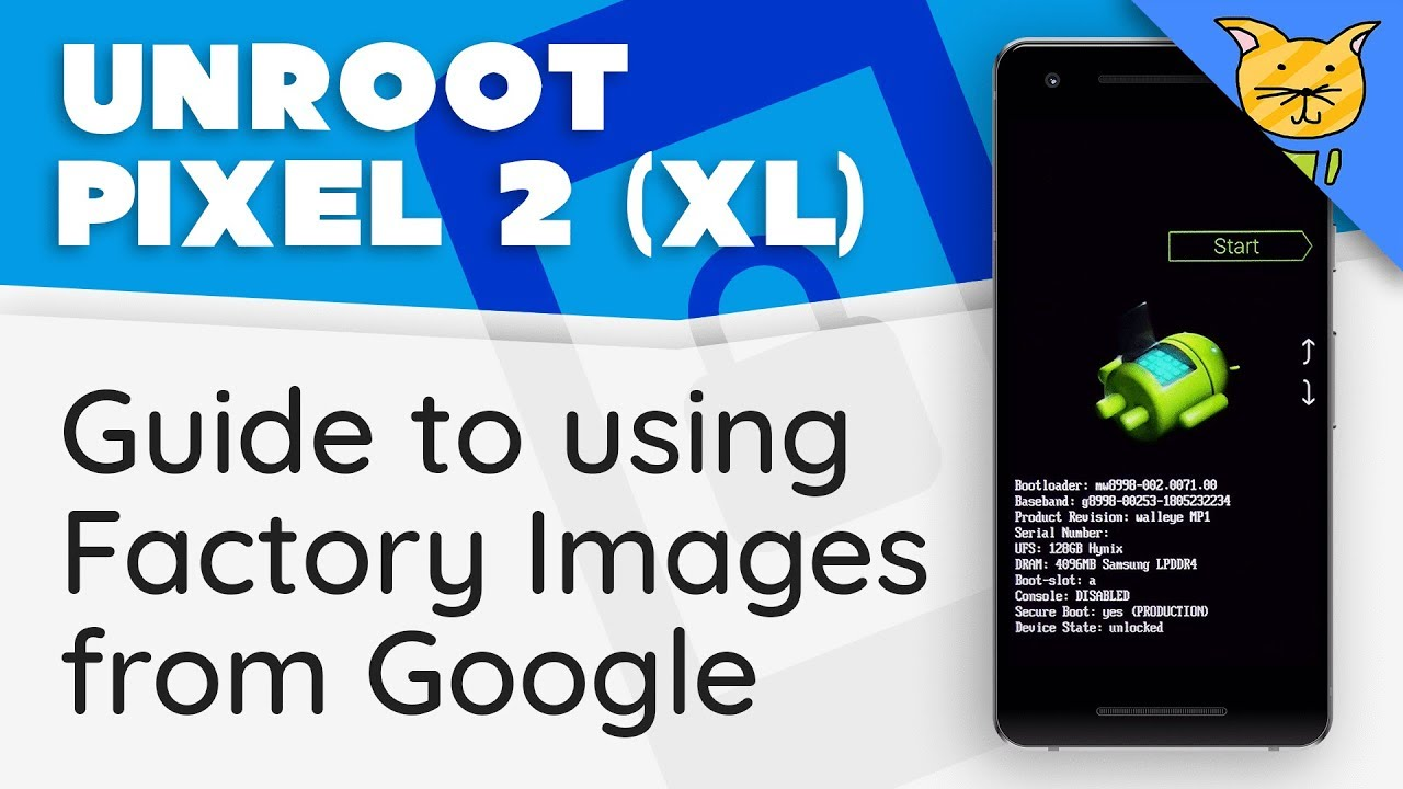 Pixel 2 (XL): Un-root & Return to Stock using Factory Images