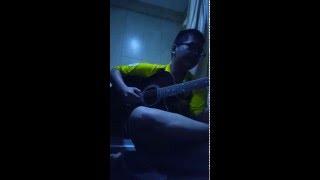 Cơn mưa tháng 5( Bức tường) guitar cover
