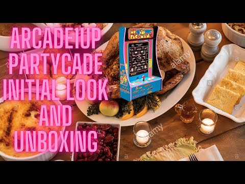 Arcade1up Ms. Pac-Man Partycade 8 in 1. Initial look and unboxing from Ur Average Gamer