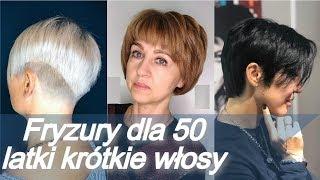 Top 20 fryzury 🌸 dla 50 latki krótkie włosy - lato 2019
