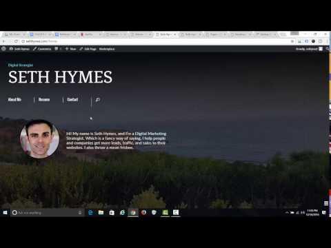 How to Create a Personal Resume/Portfolio Website