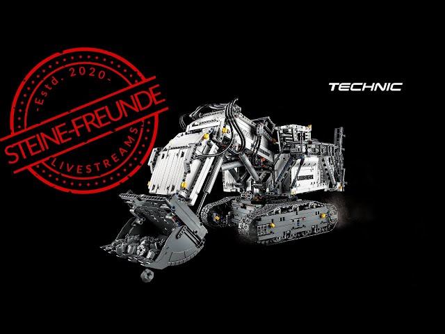 Der Lego Liebherr R 9800 Excavator und andere Technic