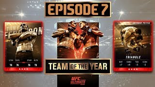 EA SPORTS UFC 3 - TEAM OF THE YEAR  - Ultimate Team Episode 7 ( MORE MASTER PACKS)