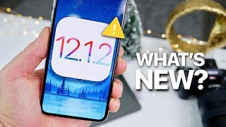 iOS 12.1.2 Beta 1! WARNING & What's New?