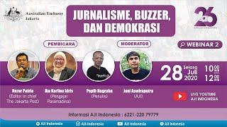 Webinar #2: Jurnalisme, Buzzer dan Demokrasi
