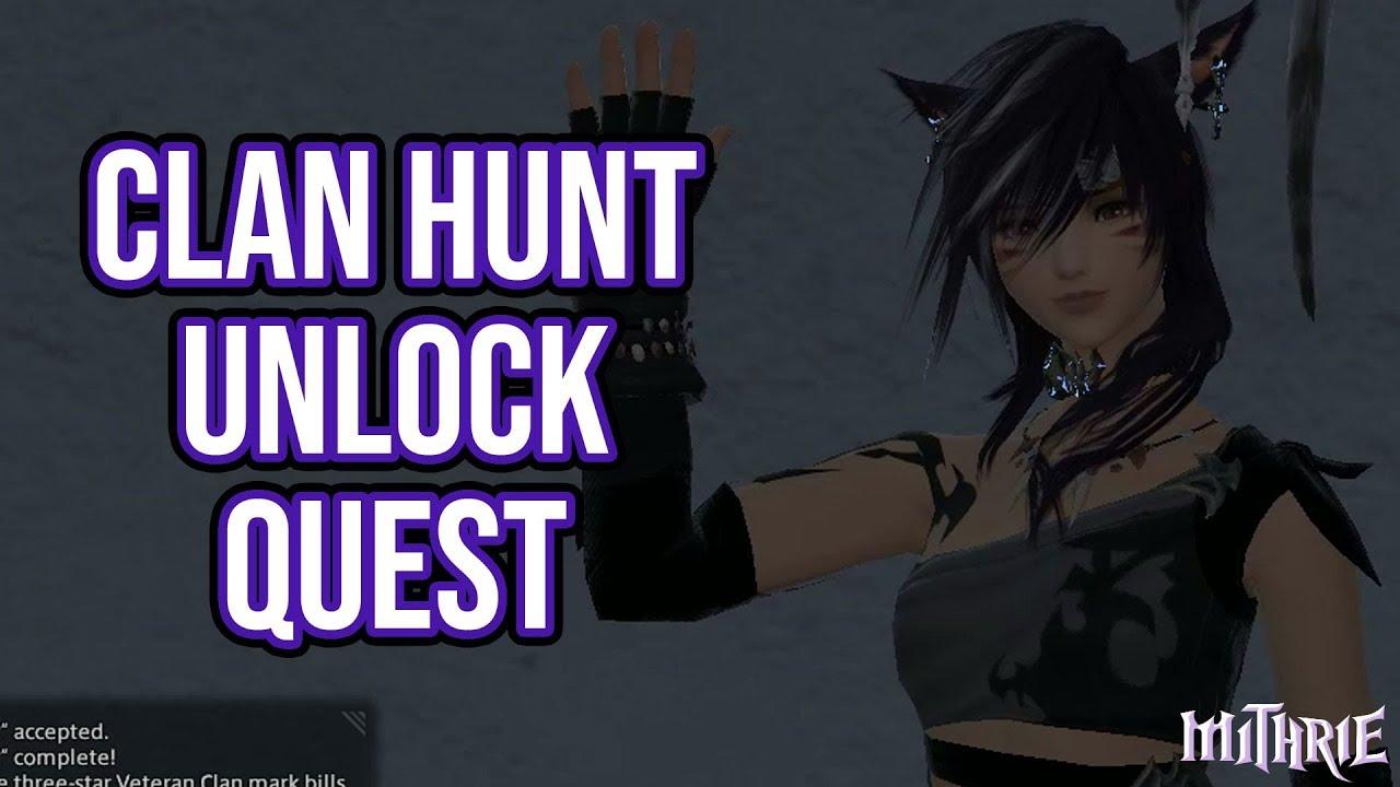 FFXIV 4 0 1109 Stormblood Clan Hunt Unlock