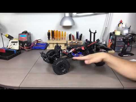 Traxxas TRX-4 Trail Truck Unboxing - from RCCA Facebook Live