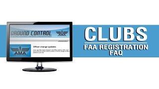 Ground Control - Club sUAS Registration FAQ