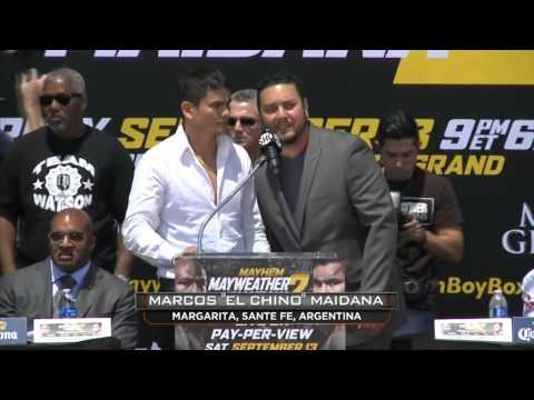 Marcos Maidana pide pelear con sus propios guantes