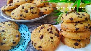 Resep Chocochip Cookies Enak & Renyah - Vanila Cho