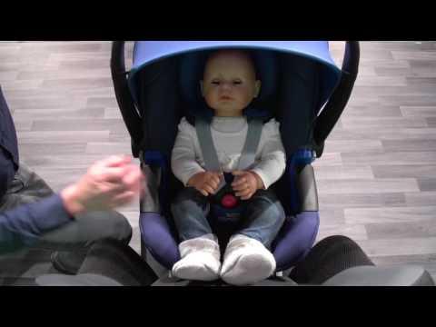 Britax Rmer Baby-Safe i-Size | установка автокресла