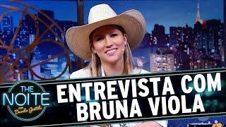 The Noite (19/09/16) - Entrevista Bruna Viola