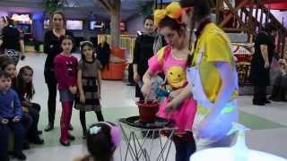 Шоу мыльных пузырей детский клуб мадагаскар