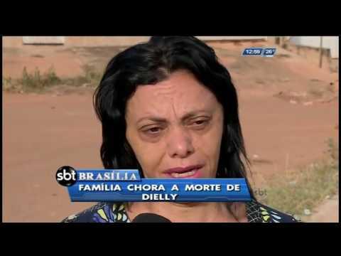 Família chora a morte de Dielly