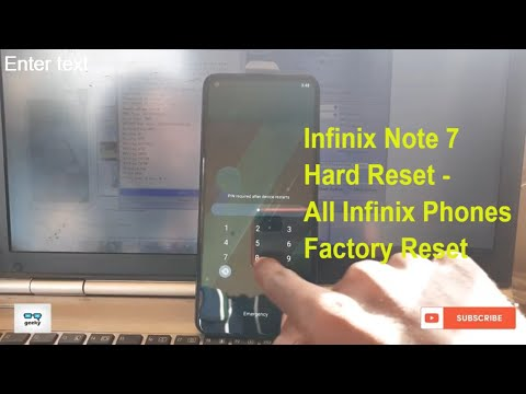 Infinix X551 Hard Reset.