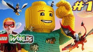 Örümcek Çocuk Lego Worlds Oynuyor Mİnecraft Gibi Lego Oyunu Örümcek Çocuğun Kanalında