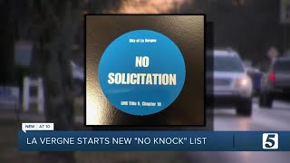 City of La Vergne cracks down on aggressive door-to-door solicitors