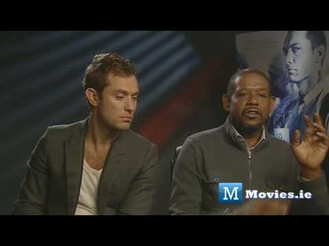 Jude Law fights back at Charlie Brooker & Marina Hyde - Repo Men Interview with Forest Whitaker