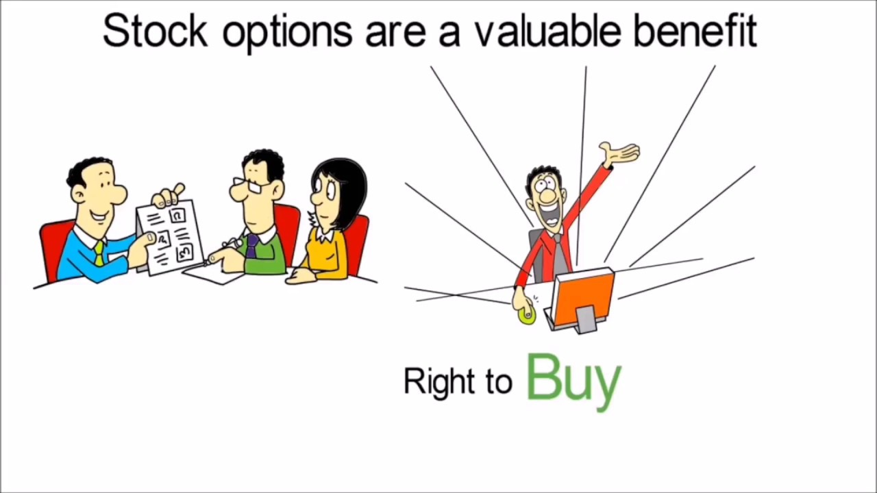 Explain employee stock options