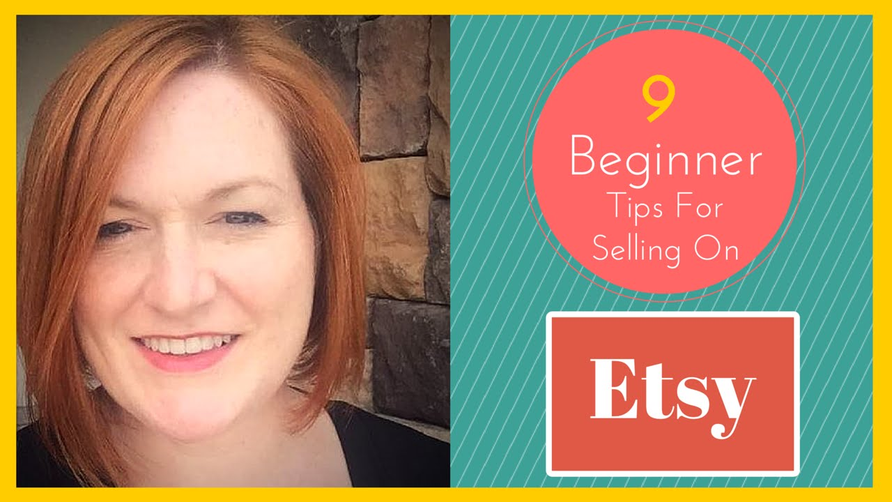 9 Tips For Selling On Etsy | Texas Gal Treasures ( Guest Video )