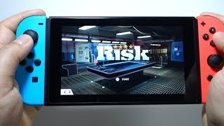 RISK Global Domination Nintendo Switch gameplay