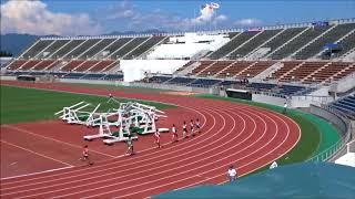男子800m決勝、1着:菅颯斗(松山北高)2分02秒22 ~愛媛県高校陸上新人大会2017中予地区予選~