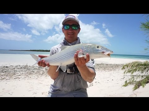 Bahamas Pt 2 - Fishing For Bonefish In The Bahamas