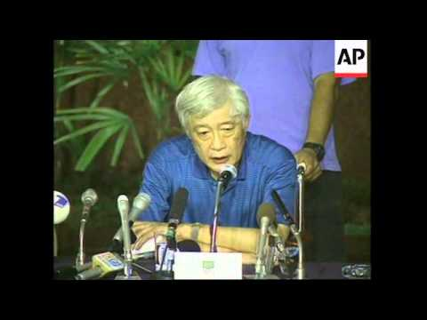 PERU: JAPAN'S AMBASSADOR AOKI'S REACTION TO END OF HOSTAGE CRISIS