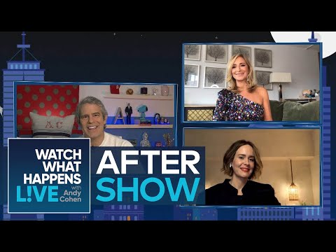 After Show: Will Sarah Paulson Comment on Lea Michele?   WWHL