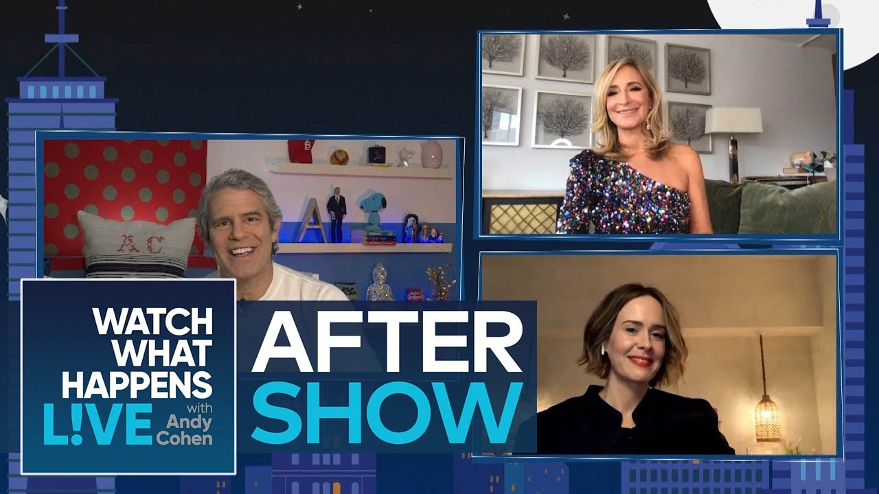After Show: Will Sarah Paulson Comment on Lea Michele? | WWHL